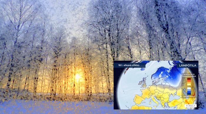 Sää näyttää muuttuvan selvästi tavanomaista kylmempään suuntaan tammikuussa.