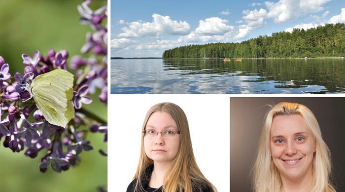 Meteorologit Anna Latvala ja Joanna Rinne pitäisivät lomansa mieluiten heinäkuussa ja elokuun alussa.