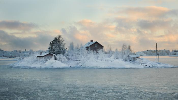 Suomenlahti jäässä