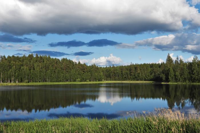Järvimaisemaa Heinolassa.