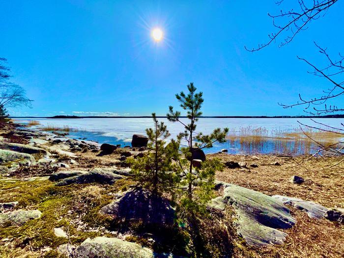 Huhtikuun aurinkoa Vaasassa.