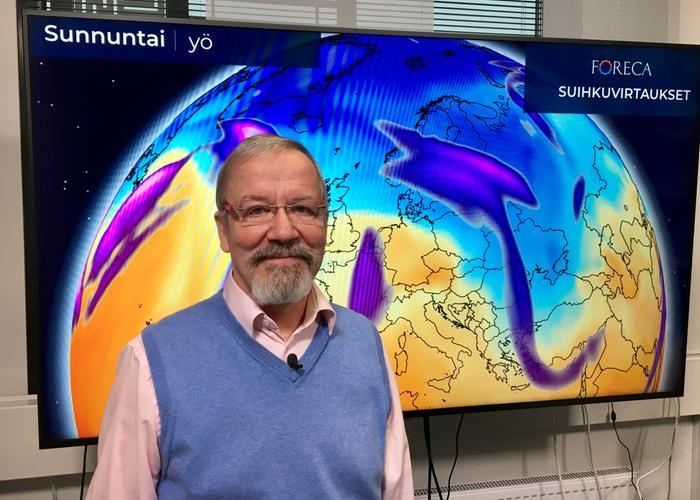 Forecan meteorologi Visa Salojärvi.