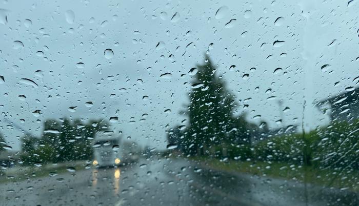 Päivö-myräkkä toi laajalti runsaita sateita 30. kesäkuuta 2020.
