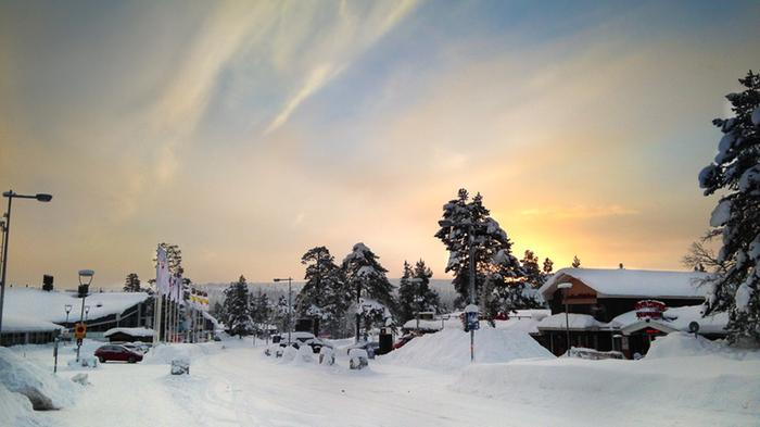 Talvipäivä Saariselällä
