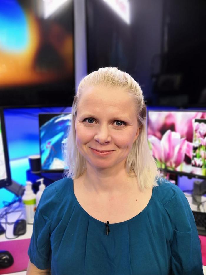 Forecan ja MTV Uutisten meteorologi Miina Manninen.
