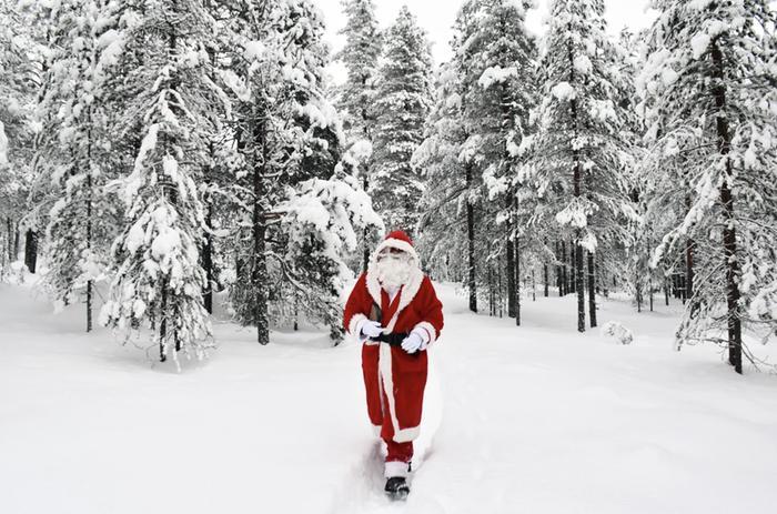 Joulun säähän vaikuttaa tänä vuonna Venäjällä olevan laajan korkeapaineen sijainti.