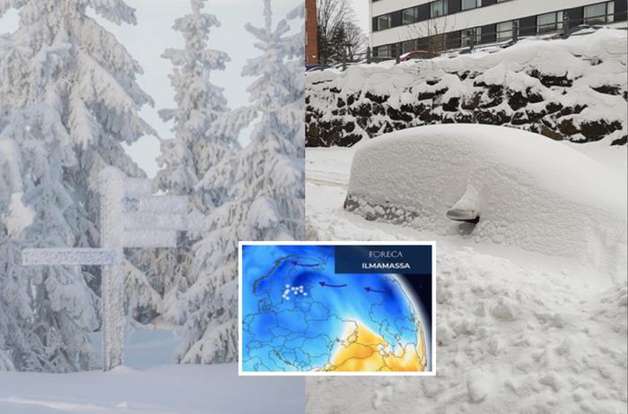 Meno hyytyy Euroopassa tammikuussa, kun Siperian kylmät ilmamassat pääsevät valumaan länteen.