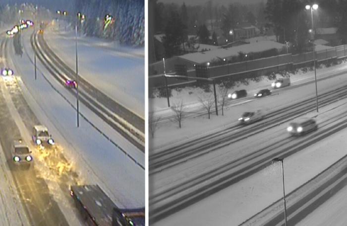 Lumipyry tuo tänään huonoa ajokeliä varsinkin maan etelä- ja keskiosaan.