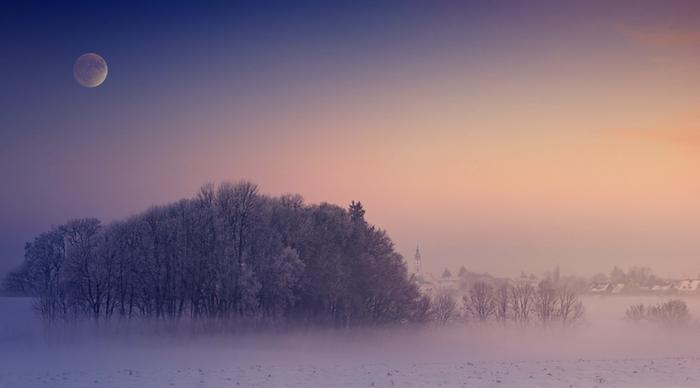 Euroopassa on nyt kylmä helmikuu ja lunta on laajoilla alueilla Keski-Euroopassakin.