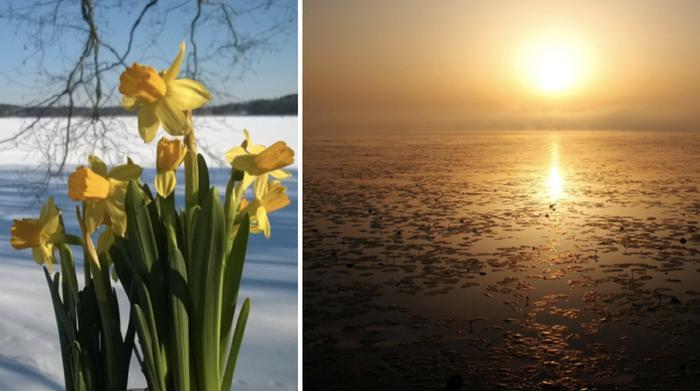 Uuden kuukausiennusteen mukaan suursäätyyppi muuttuu pääsiäisviikolla korkeapaineen alueen myötä.