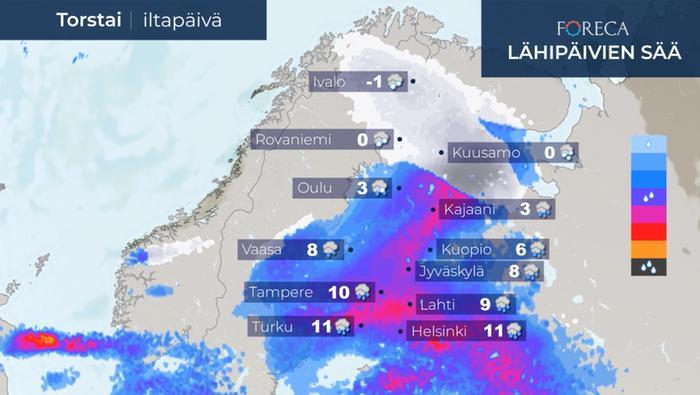 Foreca 10 Päivän Sää