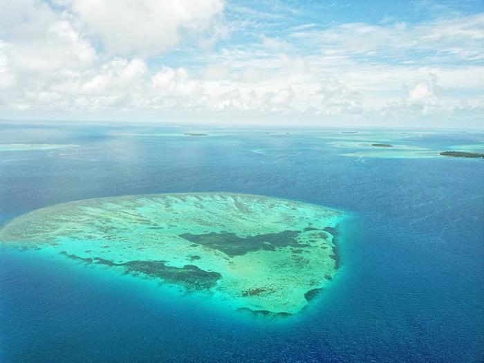 Tyynen valtameren atolleja.