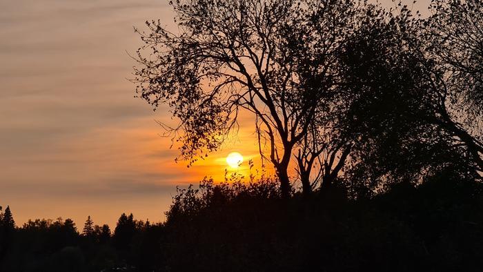 Auringonlasku Suomessa