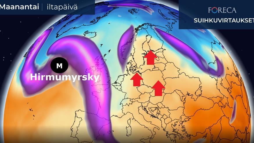 Aggressiivinen myrsky lähestyy Eurooppaa: Suomen säähän pitkäkestoinen muutos ja Lapin lumille tyly kohtalo