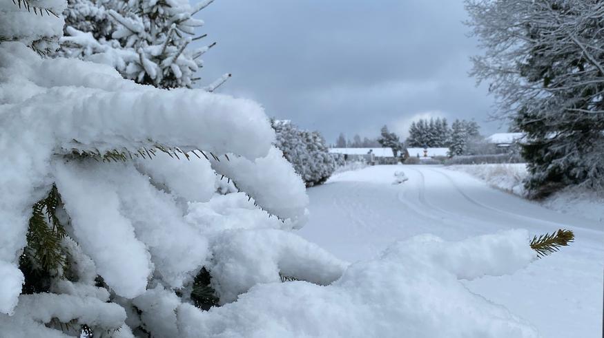 """Huhtikuun talvi iski etelään: """"Paikoin enemmän lunta kuin kertaakaan helmi-maaliskuussa"""" – katso kuvat"""