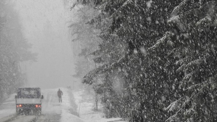 Näin lumipyry pyyhkäisee Suomen yli tiistaina – tulossa jopa 10 senttiä lunta