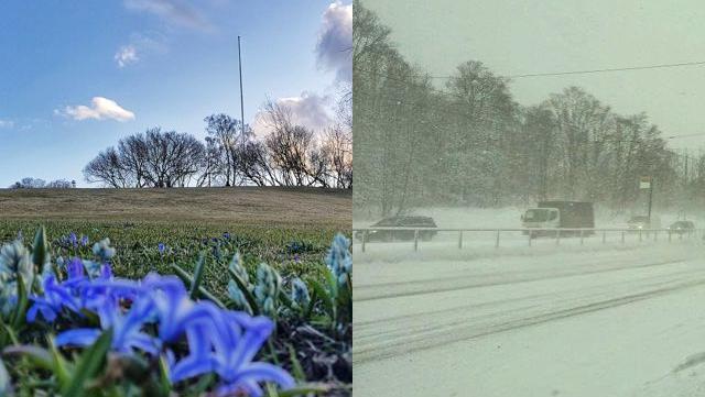 Lämpimin huhtikuun alku ainakin 60 vuoteen: Hattulassa jopa 17,5 astetta, mutta pian lämpö vaihtuu lumisateeseen