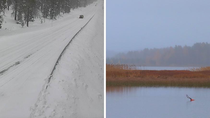 Näille alueille jopa 10–30 senttimetriä lunta tällä viikolla – lauha sää valtaa alaa viikon edetessä