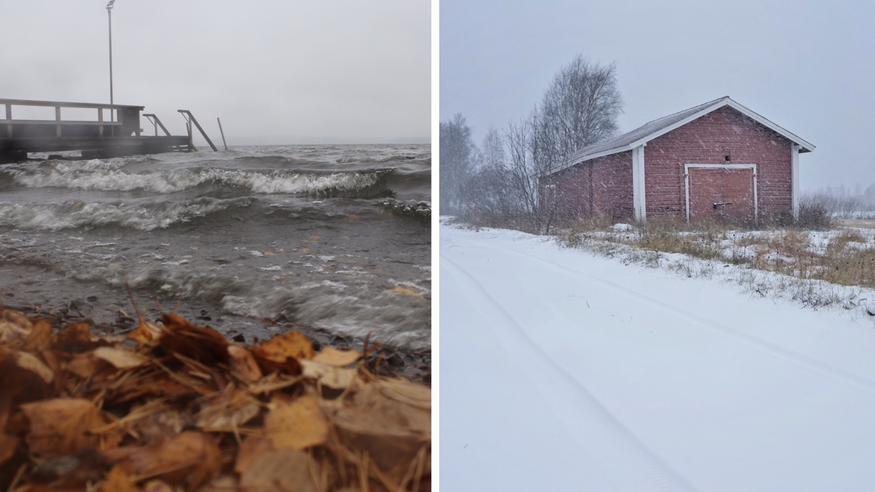 Myrskymatalapaine Suomeen: Lumipyryä ja tulvavaara – loppuviikolla lumi- ja räntäsateet mahdollisia etelässäkin, pakkaset kiristyvät