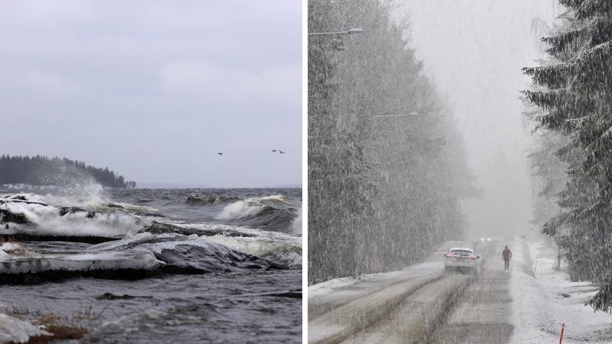 Katso, miten päivän myrsky etenee: Kovin osuma näille alueille – varovasti liikenteessä lumipyryssä!