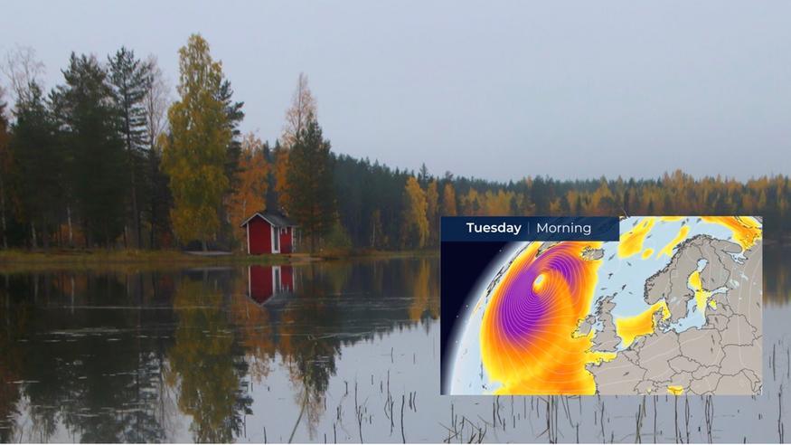 """Näin hurrikaani Epsilonin jäänne vaikuttaa Suomenkin säähän – """"Lumipeite sulaa Lapissa paikoin kokonaan"""""""
