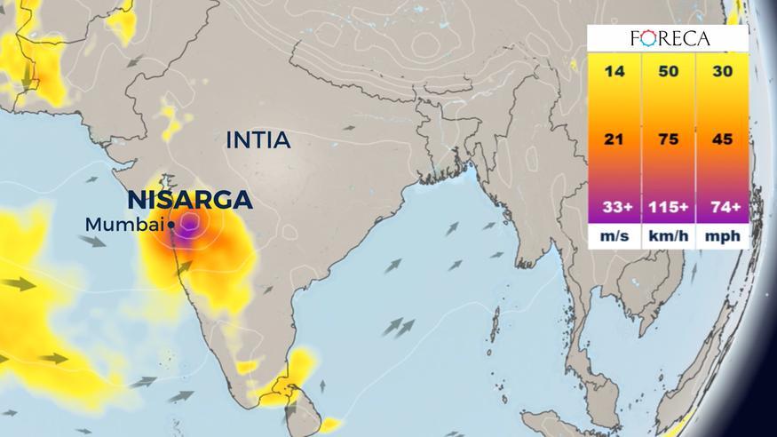 Trooppinen sykloni Nisarga riepottelee Mumbain suurkaupunkia Intiassa – trooppinen myrsky Cristobal etenee Meksikon rannikolta kohti Yhdysvaltoja
