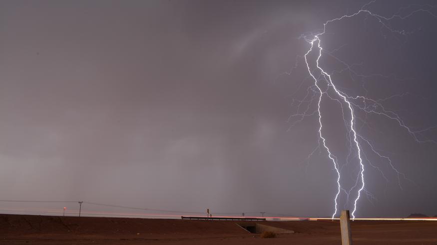 Supersolu pudotti Libyaan uskomattomat jättirakeet, jotka lähentelevät maailmanennätystä – katso pysähdyttävät kuvat!