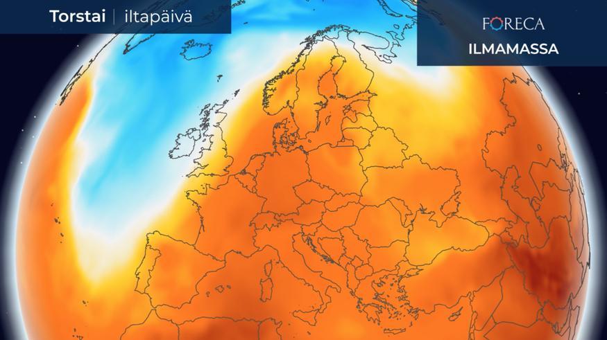 Kuumuus korventaa Eurooppaa, Yhdysvalloissa vaarallista hirmuhellettä – Kuolemanlaaksoon yli +50 astetta