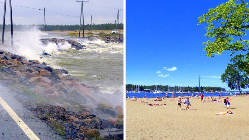 Näin voimakas Vieno-kesämyrsky iskee Suomeen, loppuviikolla jopa yli +30 asteen helteitä – katso ennuste!