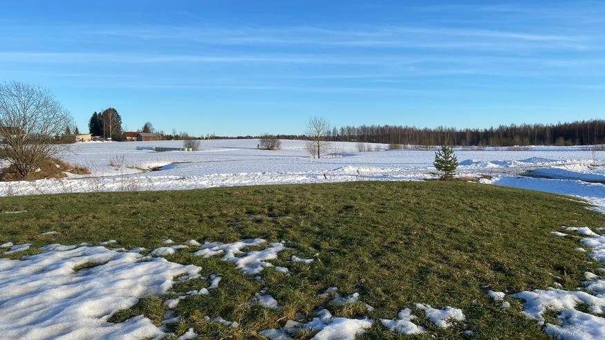 Päivän korkein lämpötila keskiviikkona lähes +10 astetta – talvi palaa pian ryminällä