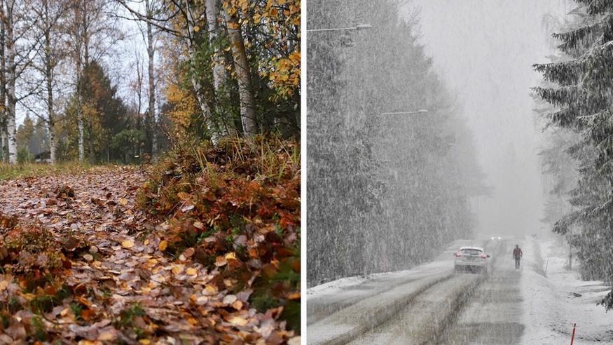 Sateet jylläävät Suomessa: Sää lämpenee jopa lähes 10 astetta – Lappiin runsaasti lisää lunta
