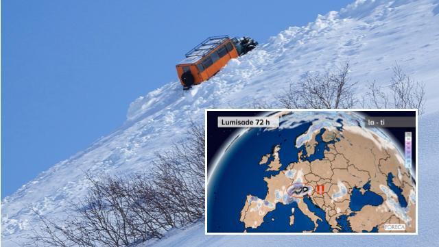 Espanja sai lumipeitteen – Italian huolestuttava ennuste vetää vakavaksi:
