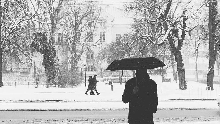 Talven ihmemaa saapui etelänaapuriimme – viikonlopun ennusteissa paluu lämpimämpään