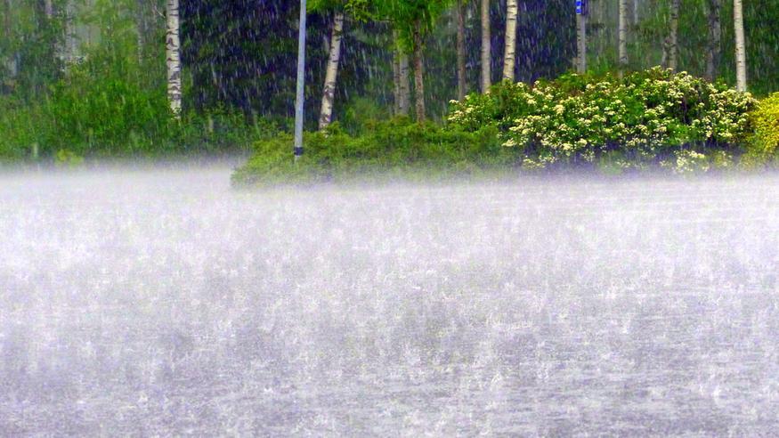 Näille alueille kesämyräkkä iskee pahiten – rankkasade ja rajut puuskat voivat aiheuttaa haittaa: