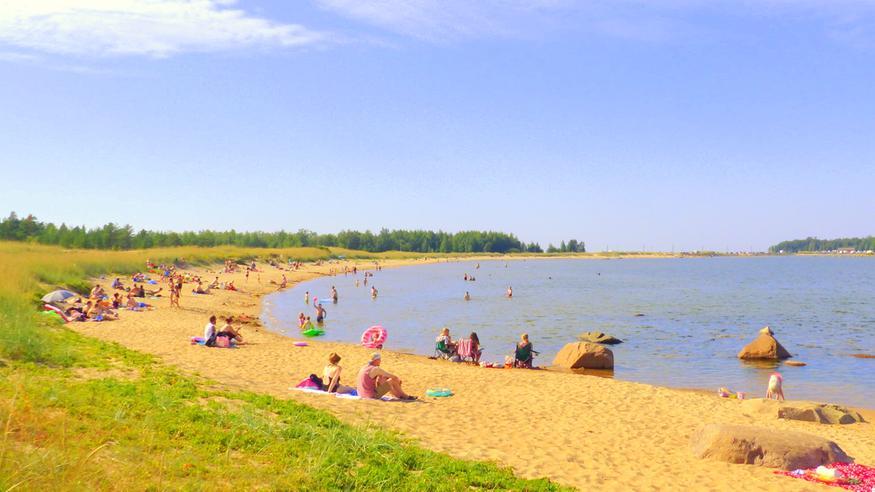 Huh kuumuutta! Arvaatko, missä päin Suomea lämpötila oli lauantaina 29,4 astetta?