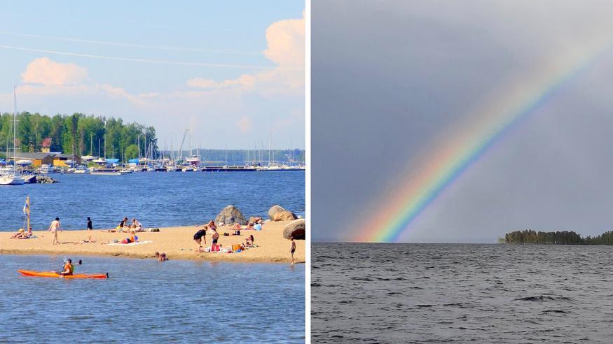 Hellejakso huipentuu – viikonloppuna iso muutos säätyyppiin! Millainen on ensi viikon ennuste?