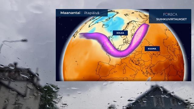 Eurooppaan jämähti nyt sama sääasetelma, joka pilasi Suomen talven – miten käy loppukesän?