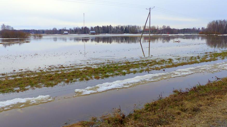"""Lapin tulvahuiput pian käsillä: """"Suurtulvat toteutumassa"""" – ennätyslumet hupenevat, ennusteissa helteitä ja sateita"""