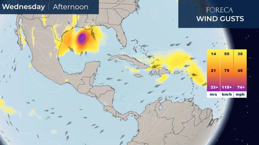 Maailman sää: Hurrikaani Zeta iskee Yhdysvaltoihin ja raju kylmänpurkaus eteni Texasiin asti – taifuuni Molave tuo rankkoja sateita Vietnamiin