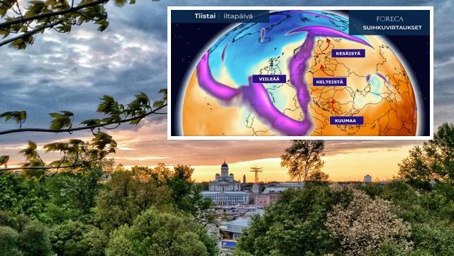 Euroopassa avautuu asetelma, joka tuo hellepullahduksia kohti pohjoista – alkaako terminen kesä pian Suomessa?