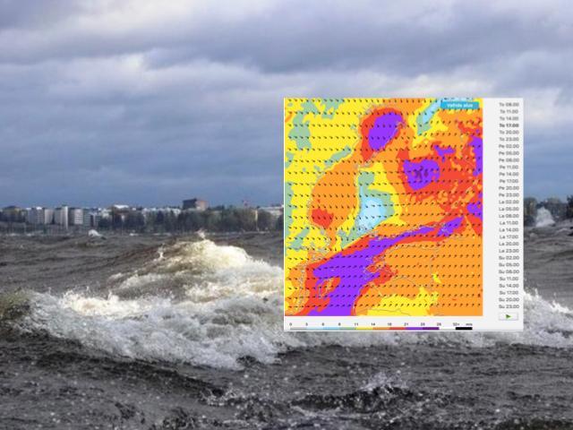 Myrsky riepottelee Suomea torstain aikana ja myrskypuuskia laajalti sisämaahankin.