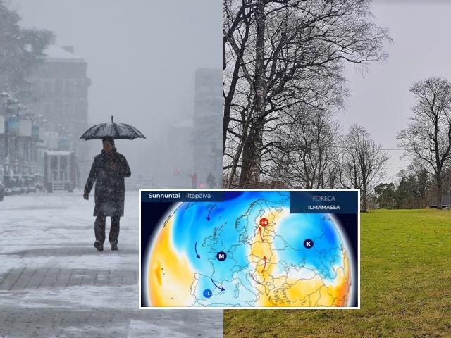 Viikonloppuna Espanjassa on paikoin kylmempää kuin Suomessa.