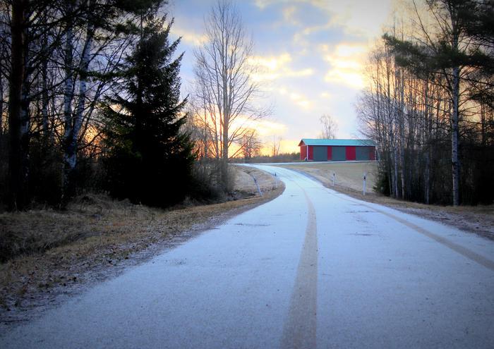 Lunta vapunpäivänä Virroilla