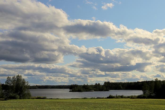 Pilvisyys vaihtelee viikon mittaan.