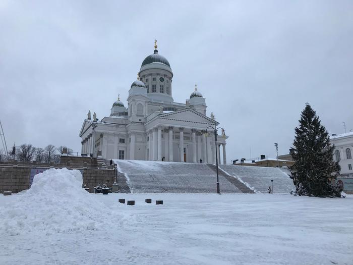 Talvi saapui Helsinkiin