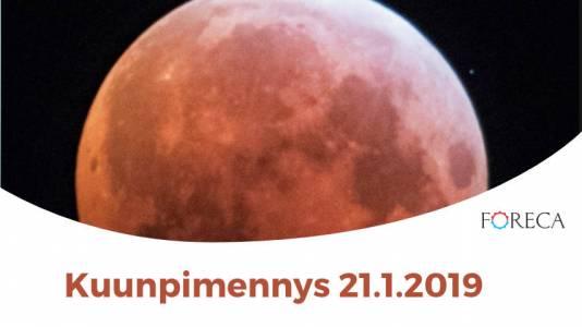Foreca Youtubessa: Täydellinen kuunpimennys – verikuu loisti taivaalla